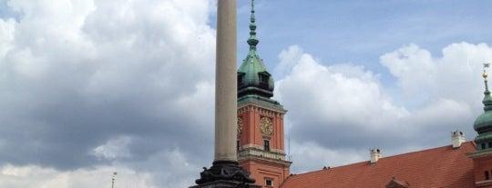 Kolumna Zygmunta III Wazy is one of StorefrontSticker #4sqCities: Warsaw.
