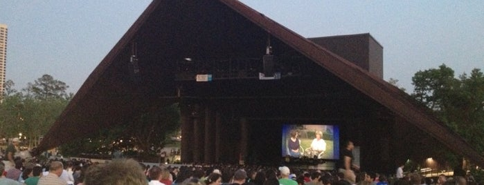 Miller Outdoor Theatre is one of Houston's Best Performing Arts - 2012.