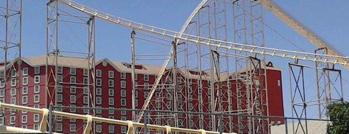 The Desperado Roller Coaster is one of Landmarks.