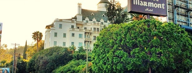 Château Marmont is one of West Hollywood/Melrose.