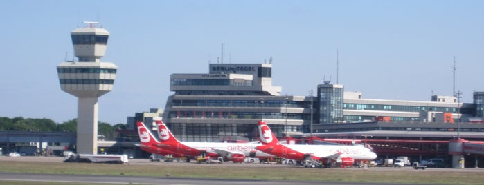 Berlin Tegel Otto Lilienthal Airport (TXL) is one of I Love Airports!.