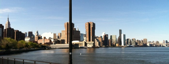 "East River Esplanade - E 34th St is one of ""Be Robin Hood #121212 Concert"" @ New York!."