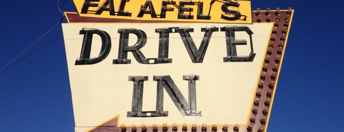Falafel's Drive-In is one of Triple D Checklist.