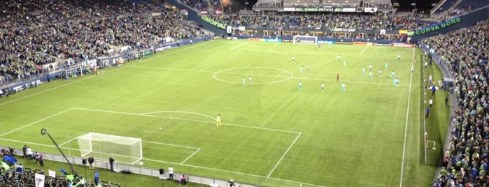 CenturyLink Field is one of Major League Soccer Stadiums.