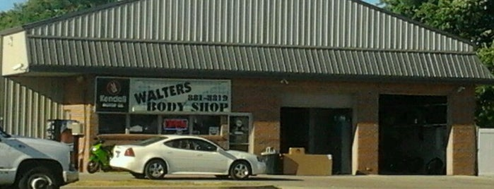 Walter's Body Shop is one of Greenwood.