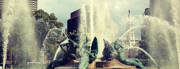 Swann Memorial Fountain is one of Public Art in Philadelphia (Volume 1).