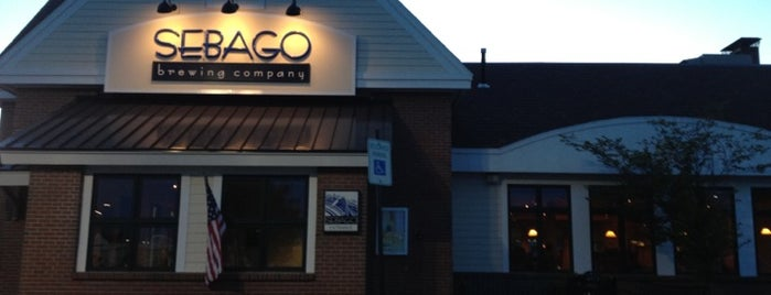 Sebago Brewing Company is one of Ecorazzi Eats Restaurant Week.