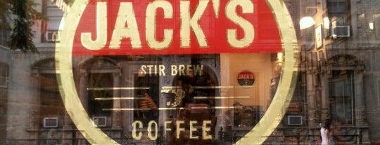 Jack's Stir Brew Coffee is one of NYC coffee.
