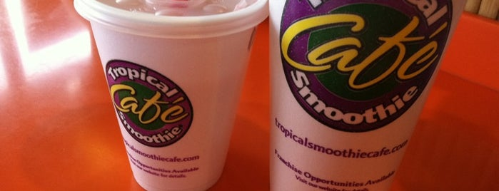 Tropical Smoothie Cafe is one of prattVEGAS faves.