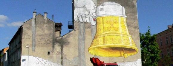 Mural Blu is one of Street Art w Krakowie: Graffiti, Murale, KResKi.