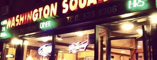 "Washington Square Diner is one of ""Be Robin Hood #121212 Concert"" @ New York!."