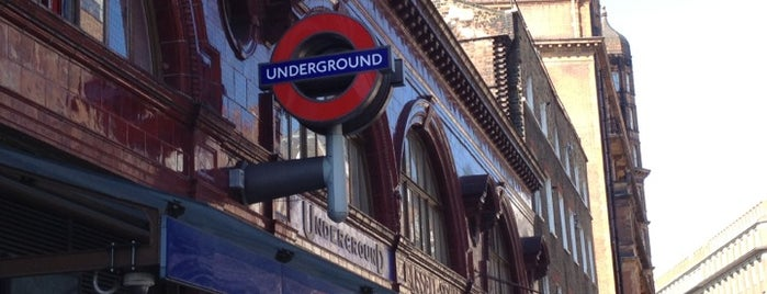 Russell Square London Underground Station is one of Zone 1 Tube Challenge.
