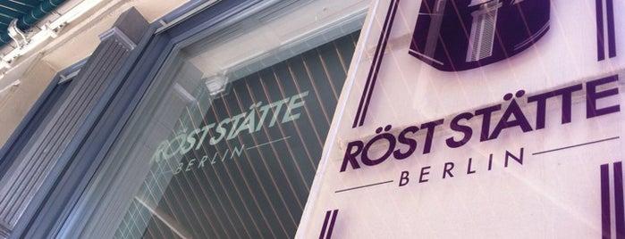 Röststätte Berlin is one of Berlin – Cafés.