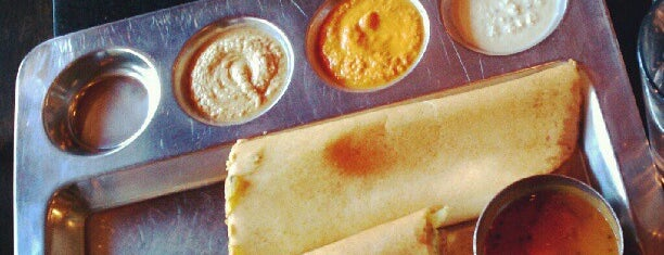 Udupi Palace is one of SF/EB Vegan Spots.