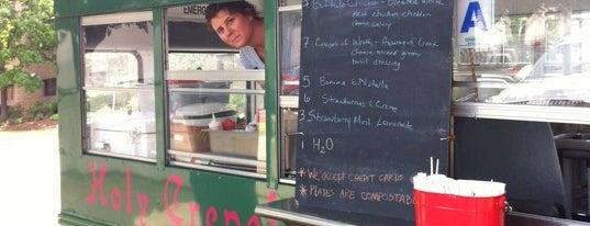 Holy Crepe is one of Saint Louis Food Trucks.