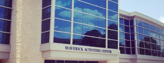 Maverick Activities Center is one of Where you can find me.....