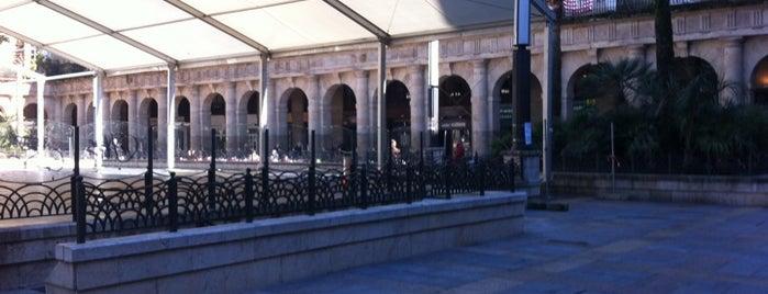 Plaza Nueva / Plaza Barria is one of let's get Bilbao's badge (Spain) #4sqCities.