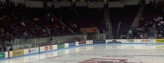 Agganis Arena is one of 2012-13 Merrimack College Hockey Road Trips.