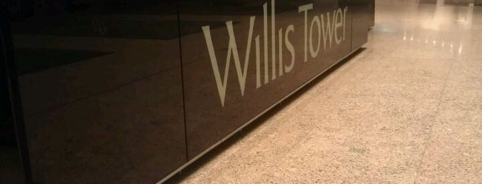 Willis Tower is one of Traveling Chicago.
