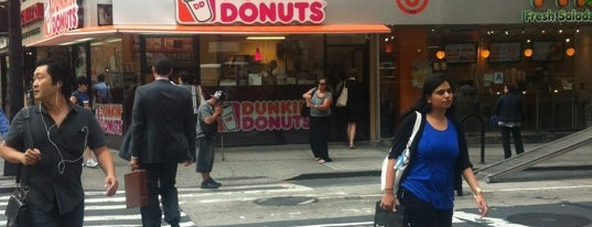 Dunkin' Donuts is one of NYC.
