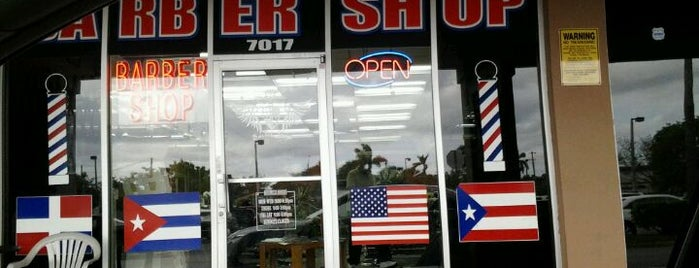 High Place Barbershop is one of High place barber shop 7017 Taft st in PUBLIX plaz.