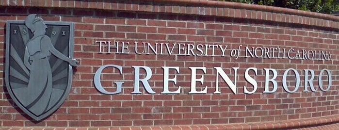 University of North Carolina at Greensboro is one of Greensboro.