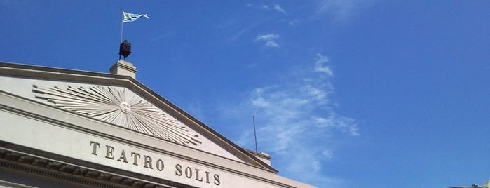 Teatro Solís is one of Montevideo City Badge - Mateína.