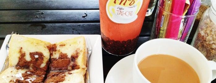 TAI-CHI จิบกาแฟ แลพระธาตุ is one of ╭☆╯Coffee & Bakery ❀●•♪.。.