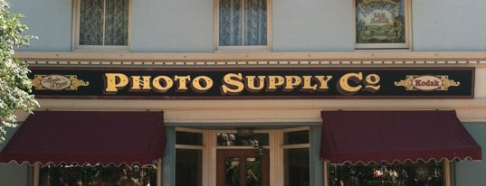 Main Street Photo Supply Co. is one of Disneyland Shops.