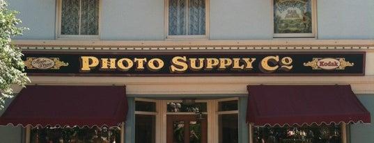 Main Street Photo Supply Co. is one of Disneyland Fun!!!.