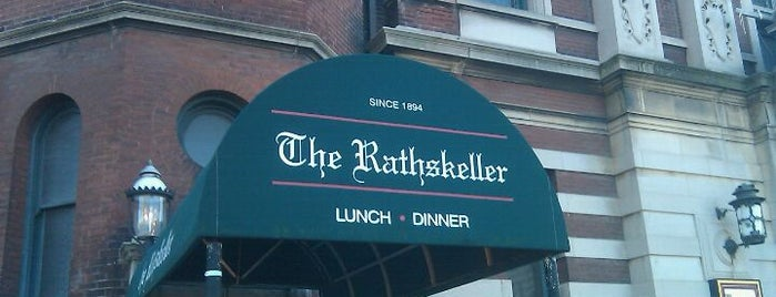 The Rathskeller is one of To SU.