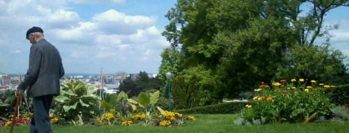 Square de la Butte du Chapeau Rouge is one of Parcs & Jardins de Paris.