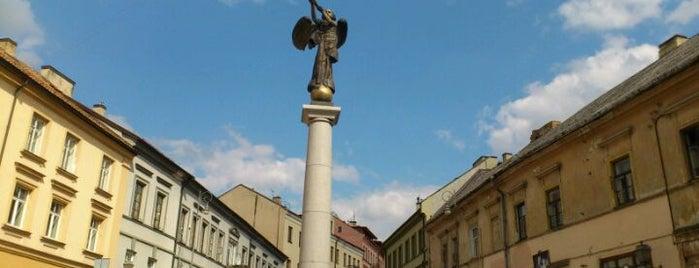 Užupio angelas | Angel of Užupis is one of Vilnius: student edition.
