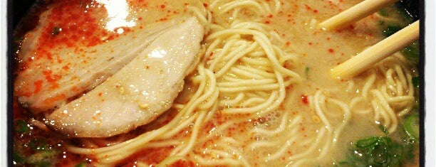 Ramen Yamadaya is one of Top 50 restaurants in LA.