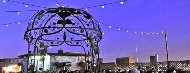 Queen of Hoxton is one of FIVE BEST: Rooftop bars.