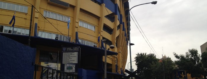 Estadio Alberto J. Armando (La Bombonera) is one of Sports Arena's.