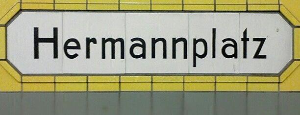 U Hermannplatz is one of U-Bahn Berlin.
