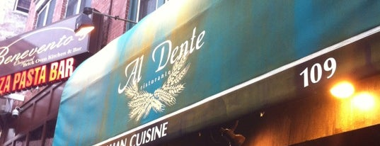Al Dente is one of Top picks for American Restaurants.