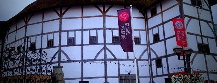 Shakespeare's Globe Theatre is one of London, August 2012.