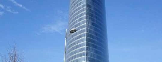 Torre Iberdrola is one of let's get Bilbao's badge (Spain) #4sqCities.