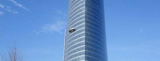 Torre Iberdrola is one of let's get Bilbao's badge (Spain) #4sqCities.