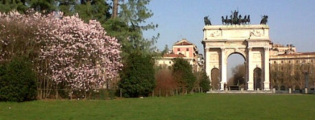 Parco Sempione is one of Milano.