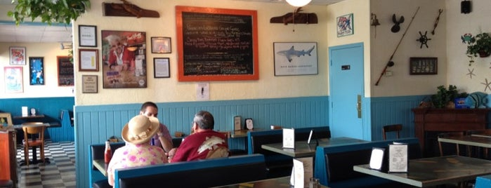 Keegan's Seafood Grille is one of Triple D Restaurants.