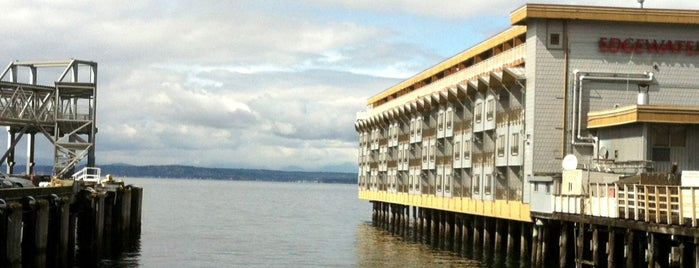 The Edgewater Hotel is one of Seattle.