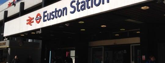 London Euston Railway Station (EUS) is one of M!.