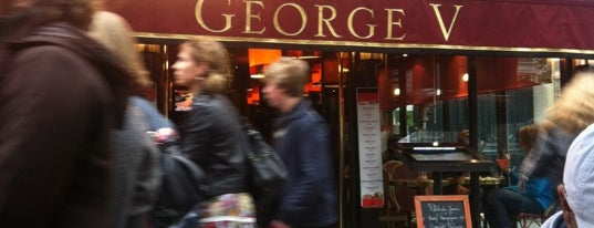 Café George V is one of Gourmet.