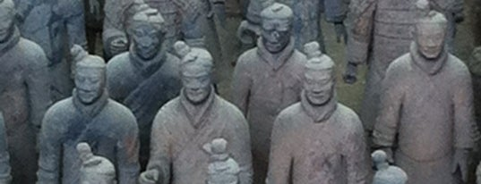 秦始皇兵马俑 Museum of the Terra-cotta Warriors and Horses of Qin Shihuang is one of travelling.