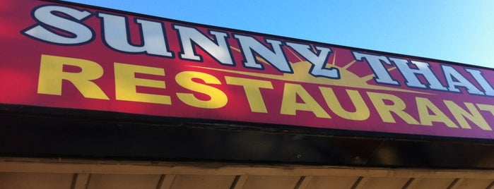 Sunny Thai is one of 20 favorite restaurants.