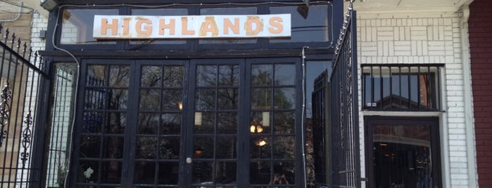 Highlands Cafe is one of places to dine.