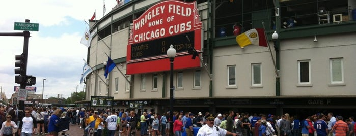 Wrigley Field is one of Olly Checks In Chicago.